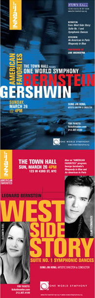 Town Hall Debut: American Favorites, Bernstein and Gershwin