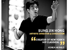 Sung Jin Hong, Artistic Director and Conductor