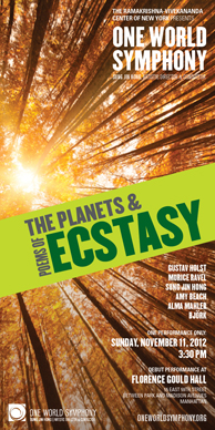 The Planets  and Poems of Ecstasy