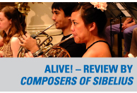Review by Composers of Sibelius